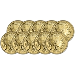 2018 American Gold Buffalo (1 oz) $50 - BU - Ten 10 Coins