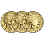 2018 American Gold Buffalo (1 oz) $50 - BU - Three 3 Coins