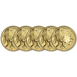 2018 American Gold Buffalo (1 oz) $50 - BU - Five 5 Coins