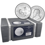 2018 South Africa Silver Krugerrand 1 oz 1 Rand - BU Sealed 500 Coin Box