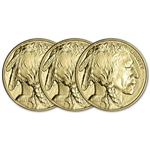 2019 American Gold Buffalo 1 oz $50 - BU - Three 3 Coins