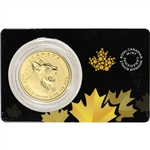2020 Canada Gold Bobcat $200 - 1 oz - BU in Sealed Assay .99999 Fine