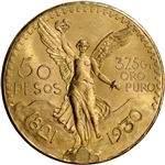 1930 Mexico Gold 50 Pesos - BU - 1.2056 oz.