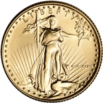 1986 American Gold Eagle 1/4 oz $10 - BU