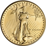 1986 American Gold Eagle 1 oz $50 - BU