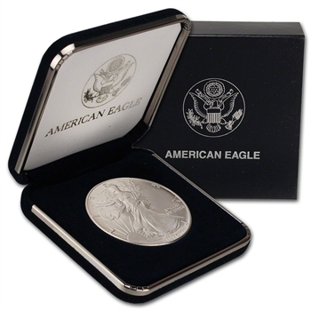 1986 American Silver Eagle in U.S. Mint Gift Box
