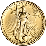 1987 American Gold Eagle 1/10 oz $5 - BU
