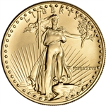 1987 American Gold Eagle 1 oz $50 - BU