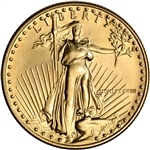 1988 American Gold Eagle 1/2 oz $25 - BU