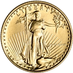 1988 American Gold Eagle 1/10 oz $5 - BU