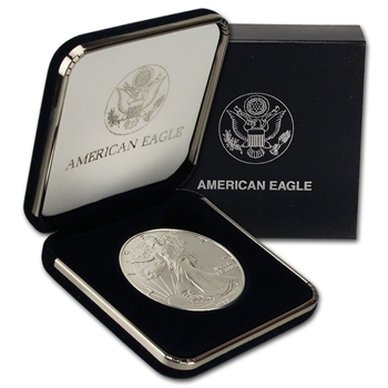 1988 American Silver Eagle in U.S. Mint Gift Box