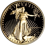 1988-P American Gold Eagle Proof 1/2 oz $25 - Coin in Capsule