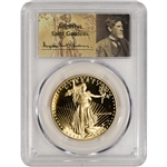 1988-W American Gold Eagle Proof (1 oz) $50 - PCGS PR70 - St. Gaudens Label