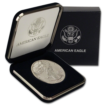 1989 American Silver Eagle in U.S. Mint Gift Box