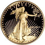 1989-P American Gold Eagle Proof 1/10 oz $5 - Coin in Capsule