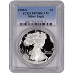 1989-S American Silver Eagle Proof - PCGS PR70 DCAM