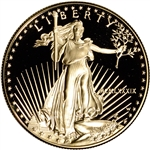 1989-W American Gold Eagle Proof 1 oz $50 - Coin in Capsule