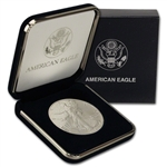 1990 American Silver Eagle in U.S. Mint Gift Box