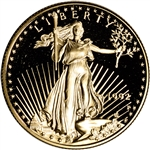 1992-P American Gold Eagle Proof 1/2 oz $25 - Coin in Capsule