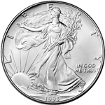 1993 American Silver Eagle - Brilliant Uncirculated