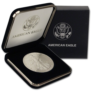 1995 American Silver Eagle in U.S. Mint Gift Box