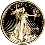 1995-W American Gold Eagle Proof 1/10 oz $5 - Coin in Capsule