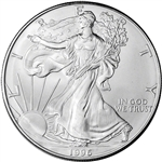 1996 American Silver Eagle - Brilliant Uncirculated