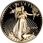 1997-W American Gold Eagle Proof 1/2 oz $25 - Coin in Capsule