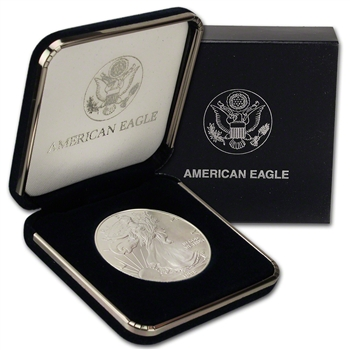 1998 American Silver Eagle in U.S. Mint Gift Box