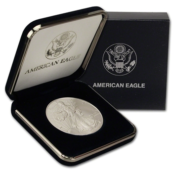 1999 American Silver Eagle in U.S. Mint Gift Box