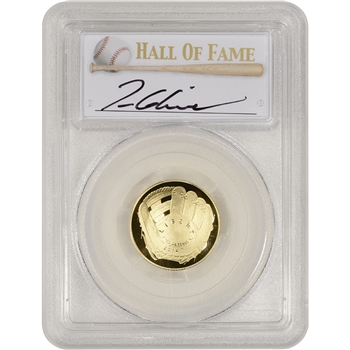 2014-W US Gold $5 Baseball Proof - PCGS PR70 - HOF Label - Tom Glavine