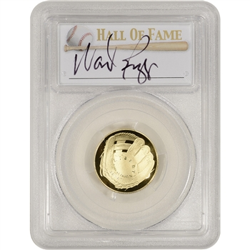 2014-W US Gold $5 Baseball Proof - PCGS PR70 - HOF Label - Wade Boggs