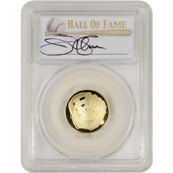 2014-W US Gold $5 Baseball Proof - PCGS PR70 - HOF Label - Jim Palmer