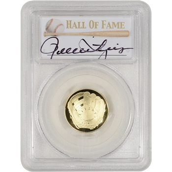 2014-W US Gold $5 Baseball Proof - PCGS PR70 - HOF Label - Rollie Fingers