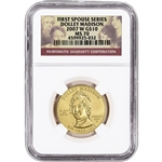 2007-W US First Spouse Gold 1/2 oz BU $10 - Dolley Madison NGC MS70