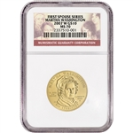 2007-W US First Spouse Gold (1/2 oz) BU $10 - Martha Washington - NGC MS70