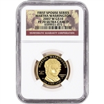 2007-W US First Spouse Gold 1/2 oz Proof $10 - Martha Washington NGC PF70