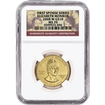 2008-W US First Spouse Gold 1/2 oz BU $10 - Elizabeth Monroe NGC MS70