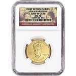 2009-W US First Spouse Gold 1/2 oz BU $10 - Anna Harrison NGC MS70