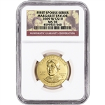 2009-W US First Spouse Gold 1/2 oz BU $10 - Margaret Taylor NGC MS70