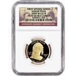 2009-W US First Spouse Gold 1/2 oz Proof $10 - Sarah Polk NGC PF70