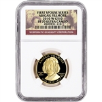 2010-W US First Spouse Gold 1/2 oz Proof $10 - Abigail Fillmore NGC PF70