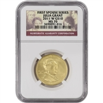 2011-W US First Spouse Gold (1/2 oz) BU $10 - Julia Grant - NGC MS70