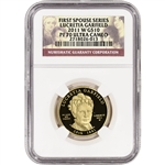 2011-W US First Spouse Gold (1/2 oz) Proof $10 Lucretia Garfield - NGC PF70 UCAM