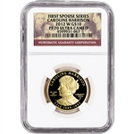 2012-W US First Spouse Gold 1/2 oz Proof $10 - Caroline Harrison NGC PF70