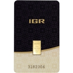 0.5 gram IGR Gold Bar - Istanbul Gold Refinery - 999.9 Fine in Sealed Assay
