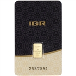 1 gram Gold Bar - IGR - Istanbul Gold Refinery - 999.9 Fine in Sealed Assay