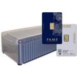 1 gram Gold Bar - PAMP Suisse - Fortuna - 999.9 Fine  Box of 25