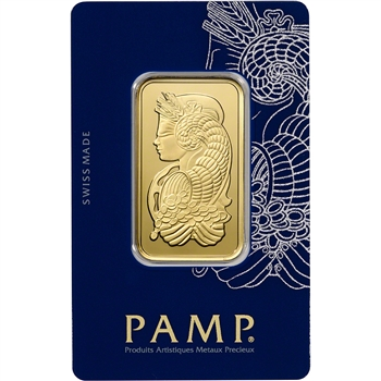 1 oz. PAMP Suisse Fortuna 999.9 Gold Bar in Sealed Assay
