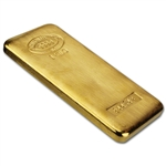 1 Kilogram (32.15 oz) Gold Bar - Johnson Matthey - 9999 Fine